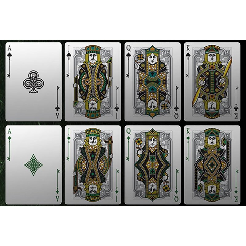 Bicycle Spirit Ii Green Playing Cards 16 99