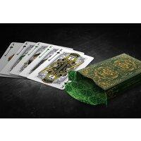 Bicycle Spirit II (Green) Playing Cards