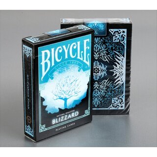 Bicycle - Natural Disasters Playing Cards - Blizzard