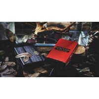Plume Knife Playing Card (Red)