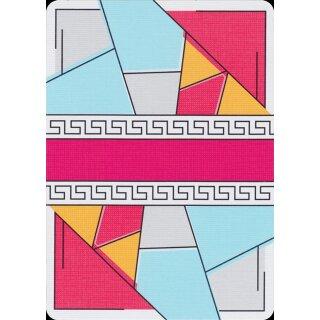 Red Stripe Poker Deck