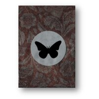 Butterfly Playing Cards Marked by Ondrej Psenicka - Red