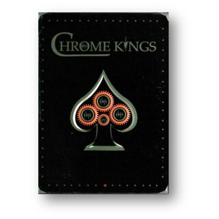 Chrome Kings Limited Edition Playing Cards (Players Red Edition)