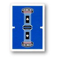 Royal Blue Gemini Casino Playing Cards by Toomas Pintson