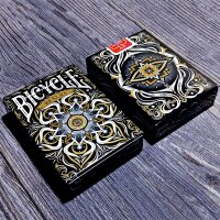 Bicycle - Realms (Black) Playing Cards