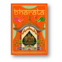 Bharata Playing Cards Rare Indian Deck Holographic Gold...