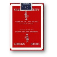 Silver Sackbut (Red) Playing Cards by Magic Square