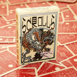 Japanese Scrolls Playing Cards