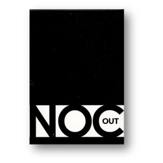 NOC OUT Deck (Black) Printed at USPCC by The Blue Crown