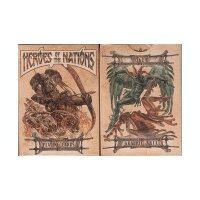 Heroes of the Nations (Dark Version) Playing Cards