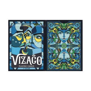VIZAGO Lumina (Blue) Playing Cards