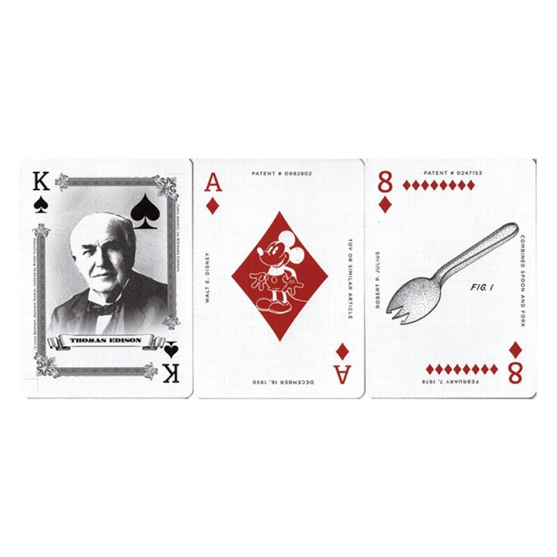 Uncut casino playing cards 10
