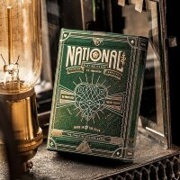 Green National Playing Cards by Theory 11