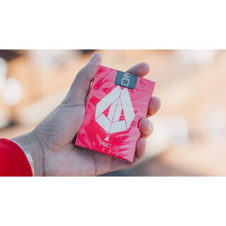 Limited Edition Mako Red Playing Cards