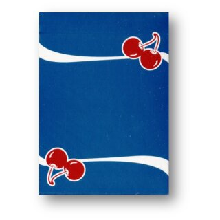 Cherry Casino Playing Cards (Tahoe Blue) by Pure Imagination