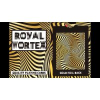Royal Vortex Gold Foil Playing Cards Gemaco ULTRA RARE !