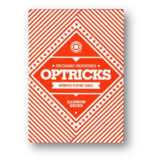 Mechanic Optricks (Red) Deck by Mechanic Industries