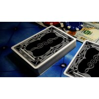 Treble Clef (Black) Playing Cards