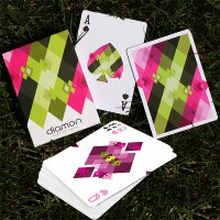 Diamon Playing Cards N. 8 - Bright Summer Day