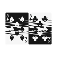 Wavy Playing Cards by Nathan Stichter