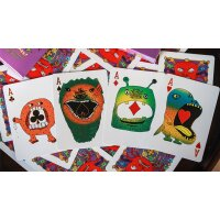 Ghoul Guys Playing Cards