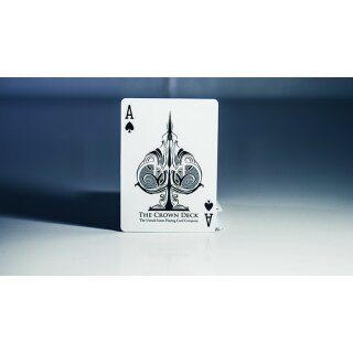 Limited Edition Crown Deck (Snow) by The Blue Crown