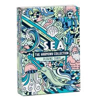 The Harmony Collection Playing Cards - Sea