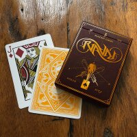 Dual Case with one Ravn Sol and one Ravn Mani Playing Card Set