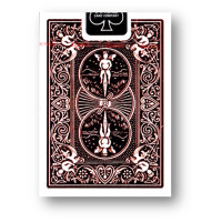 Bicycle Rider Back Foil Back Crimson (Red) Version 2