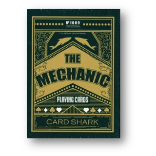 The Mechanic Playing Card Deck by JL Ltd Edition - 300 Decks only
