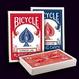 12 x Bicycle Supreme Line Rider Back Poker Karten