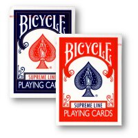 2 Deck Set Bicycle Supreme Line Rider Back Poker Karten...