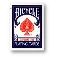 2 Deck Set Bicycle Supreme Line Rider Back Poker Karten (Blue and Red)