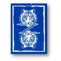 The Hidden King Playing Cards - Blue Luxury