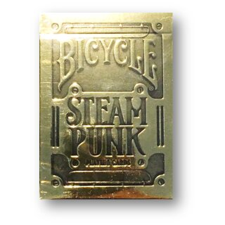 Bicycle - Steampunk - Gold Playing Cards