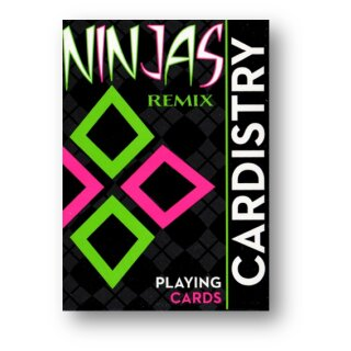 Limited Edition Cardistry Ninjas Remix by Devo Playing Cards