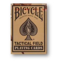 Bicycle - Tactical Field - Brown Playing Cards