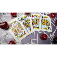 Cherry Casino Desert Inn Purple Playing Cards by Pure Imagination Projects