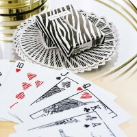 Zebra King Slayer Playing Cards by Ellusionist