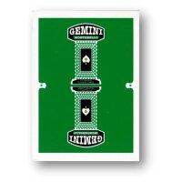 Gemini Casino Playing Cards - Emerald Green