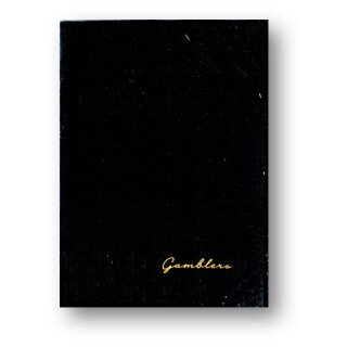 Gamblers Playing Cards (Borderless Black) by Christofer Lacoste and Drop Thirty Two