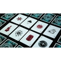 Elemental Master Green Edition Playing Cards by TCC