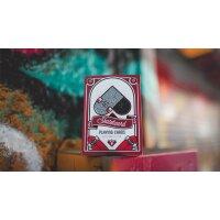 Skateboard V2 (Marked) Playing Cards by Riffle Shuffle