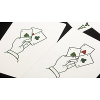Limited Edition Expert At The Card Table (White) Playing Cards