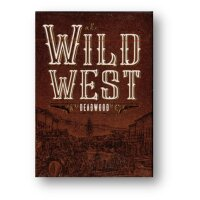 Wild West Deadwood Playing Cards