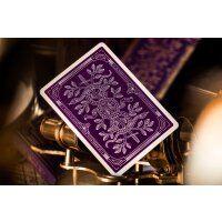 Monarch Purple Playing Cards by Theory11