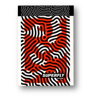 Superfly Spitfire Red Playing Cards by Gemini