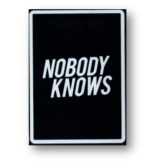 Nobody Knows Playing Cards