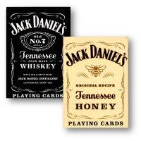 Jack Daniels Black/Honey Set Playing Cards by USPCC
