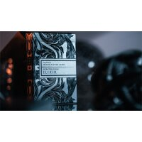 Intaglio Engraved Midnight Elixir Apothecary Playing Cards